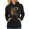 Awesome Owl Art Abstract Womens Hoodie