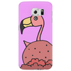 Awesome Pink Flamingo in Ice Cream Cone Phone Case