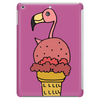 Awesome Pink Flamingo in Ice Cream Cone Tablet