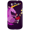 Awesome Purple Unicorn Playing Saxophone Artwork Phone Case