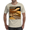 Awesome Racing Greyhound Dog Abstract Art Original Mens T-Shirt