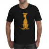Awesome Sitting Fawn Greyhound Dog Original Arl Mens T-Shirt