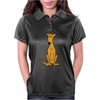 Awesome Sitting Fawn Greyhound Dog Original Arl Womens Polo