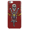 Awesome Skeleton Riding Motorcycle Artwork Phone Case
