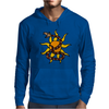Awesome Snake and Sun Art Original Mens Hoodie