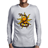 Awesome Snake and Sun Art Original Mens Long Sleeve T-Shirt
