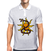 Awesome Snake and Sun Art Original Mens Polo