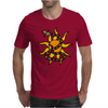 Awesome Snake and Sun Art Original Mens T-Shirt