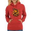 Awesome Snake and Sun Art Original Womens Hoodie