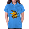 Awesome Snake and Sun Art Original Womens Polo