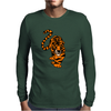 Awesome Stalking Tiger Art Mens Long Sleeve T-Shirt