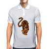 Awesome Stalking Tiger Art Mens Polo