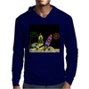 Awesome Surfboards Surfing Art Original Mens Hoodie
