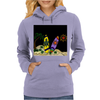 Awesome Surfboards Surfing Art Original Womens Hoodie