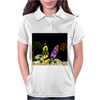 Awesome Surfboards Surfing Art Original Womens Polo