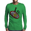 Awesome Tennis ball and Racket Art Abstract Mens Long Sleeve T-Shirt