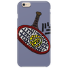 Awesome Tennis ball and Racket Art Abstract Phone Case