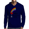 Awesome Wine is Heaven in a Glass Art Mens Hoodie