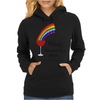Awesome Wine is Heaven in a Glass Art Womens Hoodie