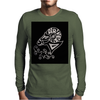 Awesome Zodiac Aries Ram Art Original Mens Long Sleeve T-Shirt