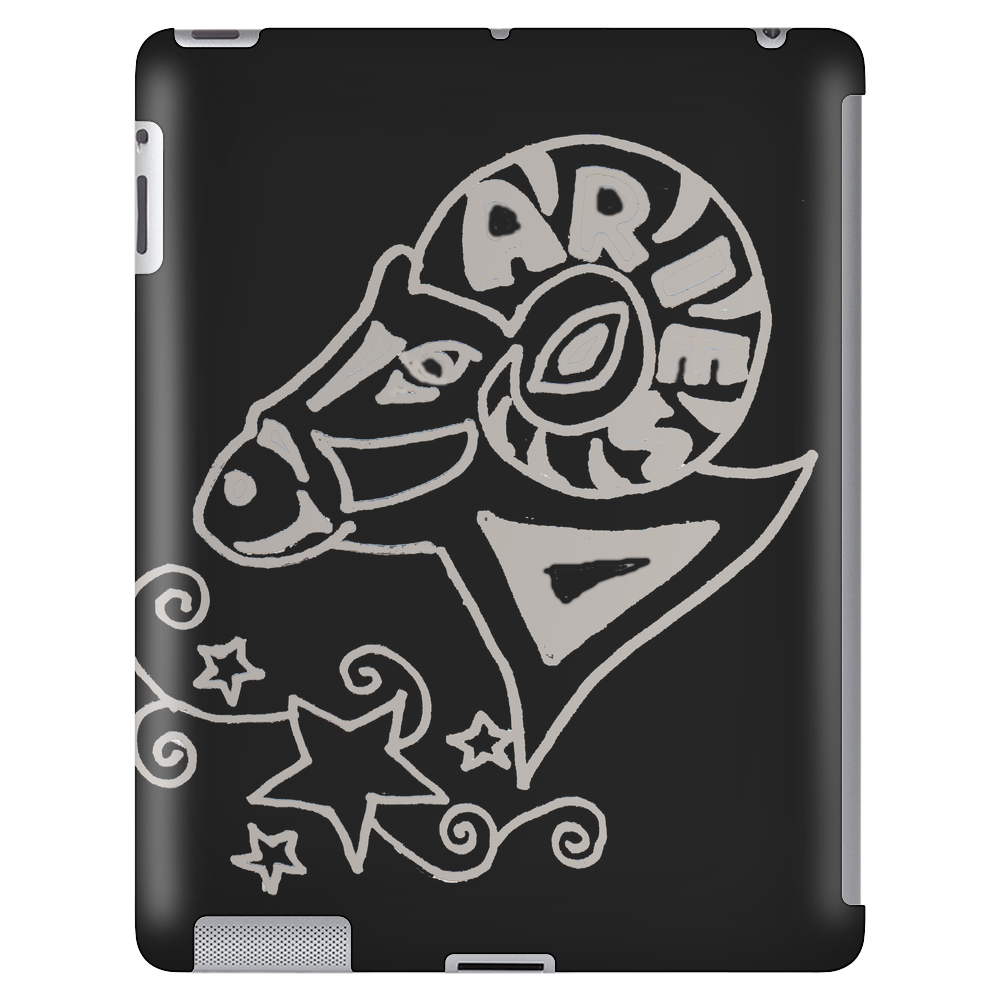 Awesome Zodiac Aries Ram Art Original Tablet