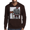 Axe Weilding Knight Mens Hoodie