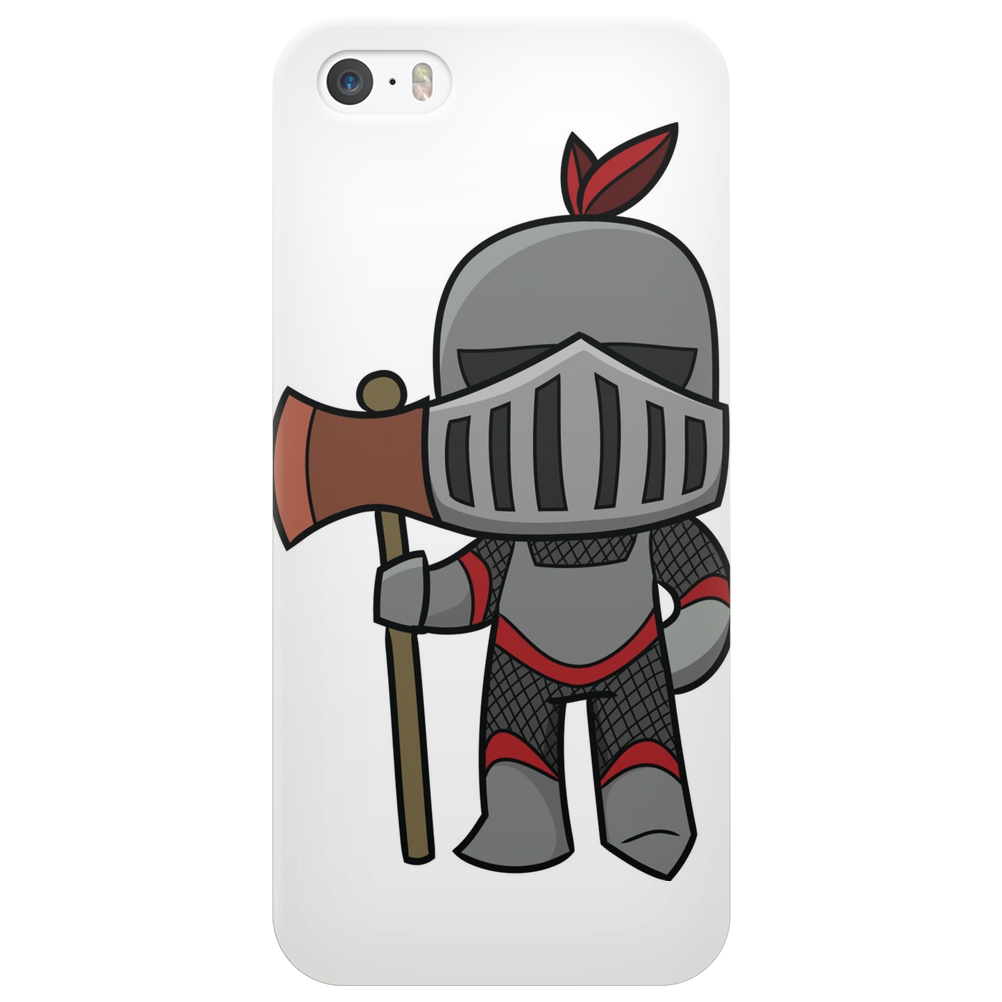 Axe Weilding Knight Phone Case