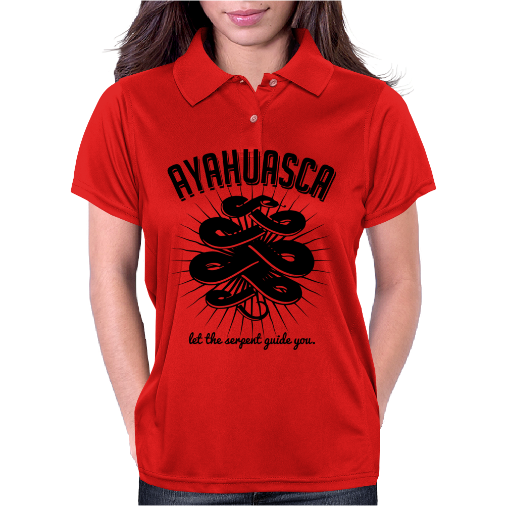 Ayahuasca Womens Polo