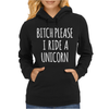B PLEASE UNICORN Womens Hoodie