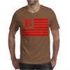 B Red Mens T-Shirt