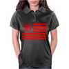 B Red Womens Polo