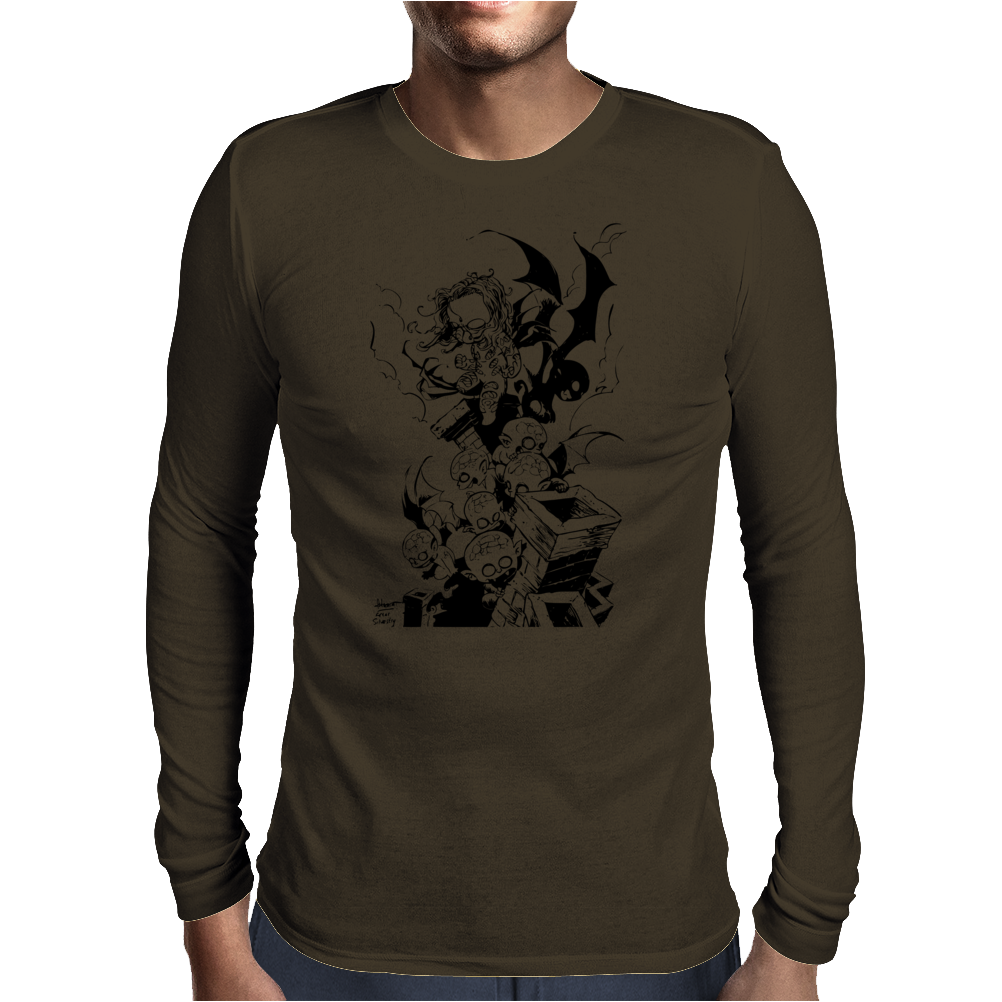 Baby Darkness Mens Long Sleeve T-Shirt