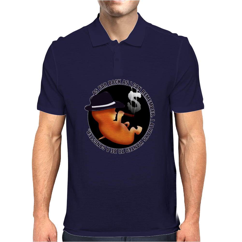 BABY GANGSTER Mens Polo