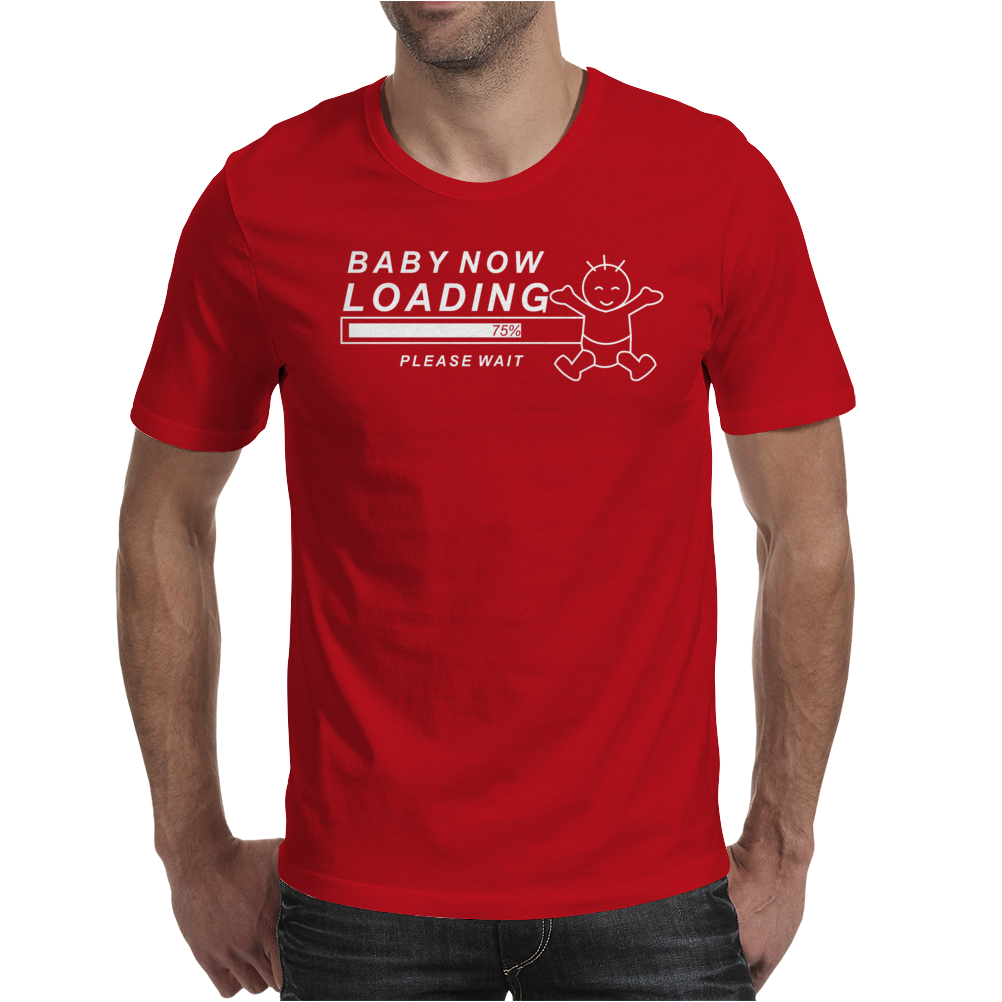 Baby Now Loading Funny Ladies Mens T-Shirt