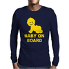 Baby On Board ! Mens Long Sleeve T-Shirt