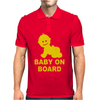 Baby On Board ! Mens Polo