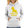 Baby On Board ! Womens Hoodie