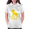 Baby On Board ! Womens Polo