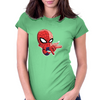 Baby Spider Man Womens Fitted T-Shirt