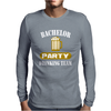 Bachelor Party Drinking Team Wedding Groomsmen Bridal Funny Mens Long Sleeve T-Shirt