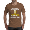 Bachelor Party Drinking Team Wedding Groomsmen Bridal Funny Mens T-Shirt