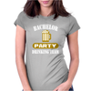 Bachelor Party Drinking Team Wedding Groomsmen Bridal Funny Womens Fitted T-Shirt