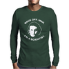 back off man i'm a scientist Mens Long Sleeve T-Shirt