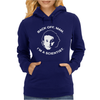 back off man i'm a scientist Womens Hoodie