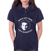 back off man i'm a scientist Womens Polo
