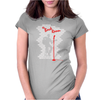 Back-room Womens Fitted T-Shirt