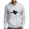 Back the Blue Texas. Mens Hoodie
