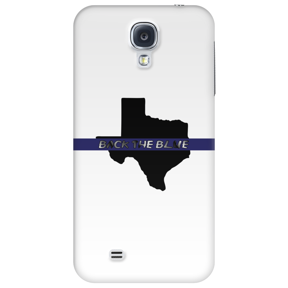 Back the Blue Texas. Phone Case