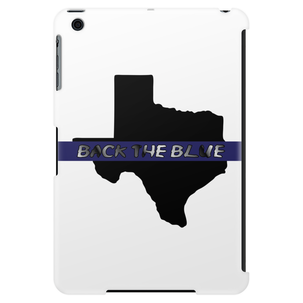 Back the Blue Texas. Tablet