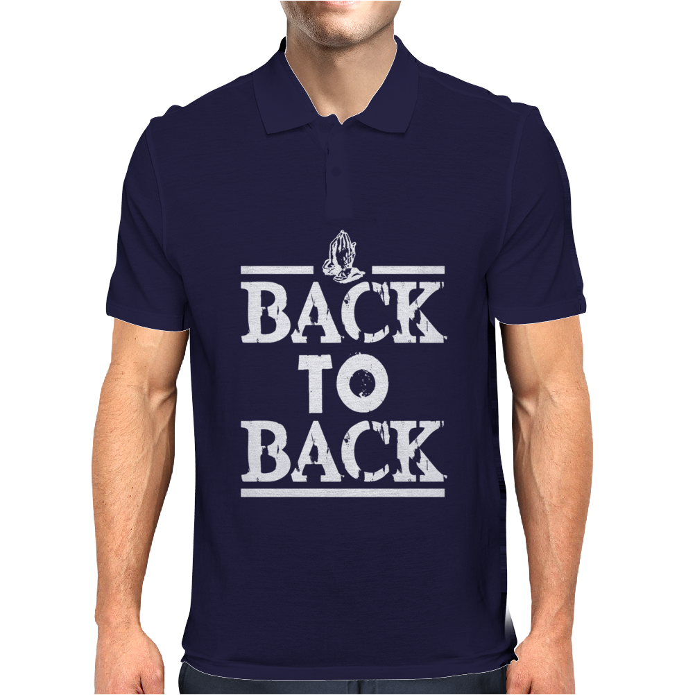 BACK TO BACK Mens Polo